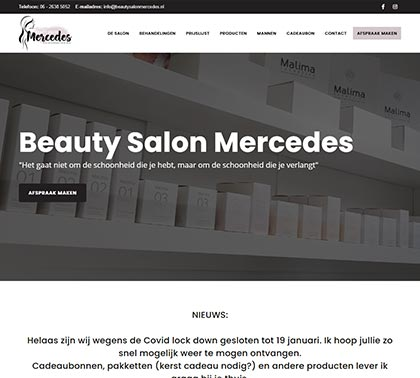 Beauty Salon Mercedes