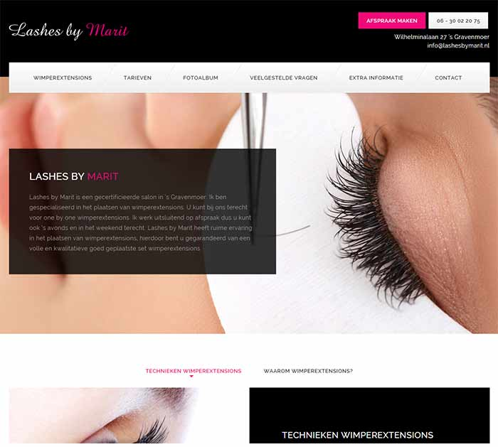 Lashes by Marit