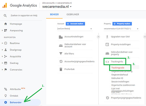 Google Analytics dual tracking 6